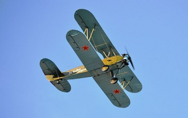 Легендарный самолёт Поликарпова.