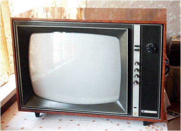 Первый советский цветной телевизор Рубин 401