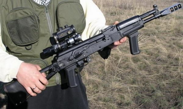 Тюнингованный карабин Сайга-МК-03