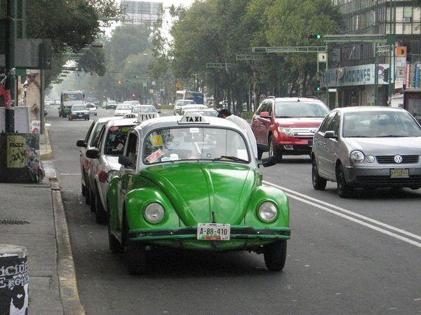 Такси Vochos (Мексика).