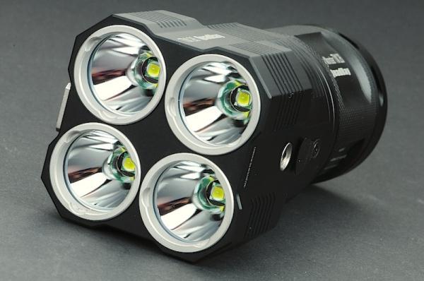 NiteCore TM26: самый мощный луч света