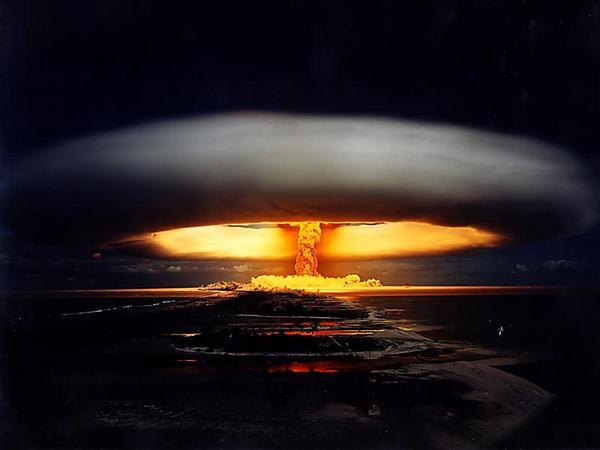 Взрыв царь-бомбы (реконструкция).