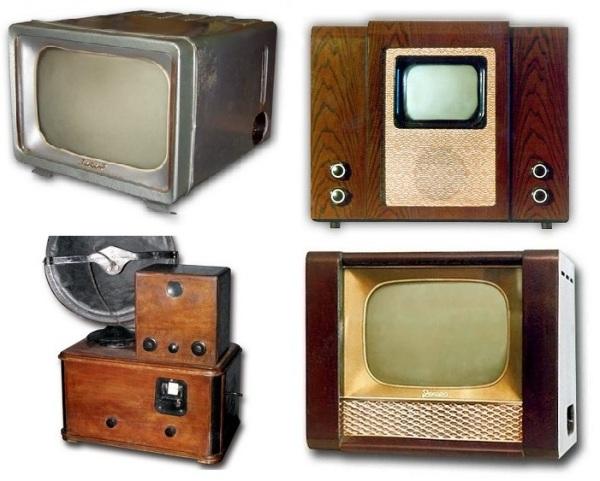 Телевизоры советского производства.