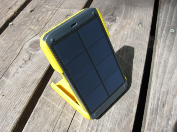 Лампа на солнечных батареях