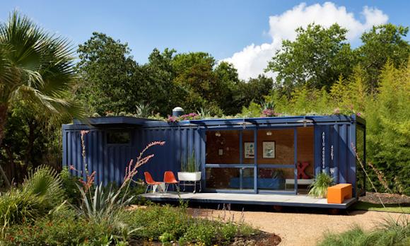 Домик-контейнер в Сан-Антонио, США