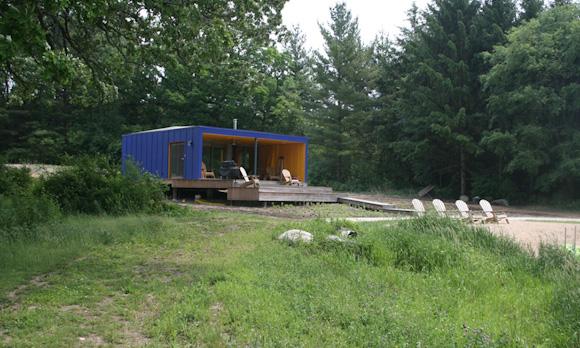 Квадратный микро-домик в Миннесоте, США
