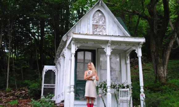 Горный домик в Викторианском стиле, Катскилл, США