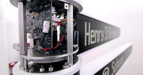Points - иновационное оборудование в корпусе знака