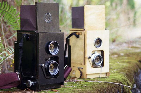 Двухзеракльная камера середины прошлого века
