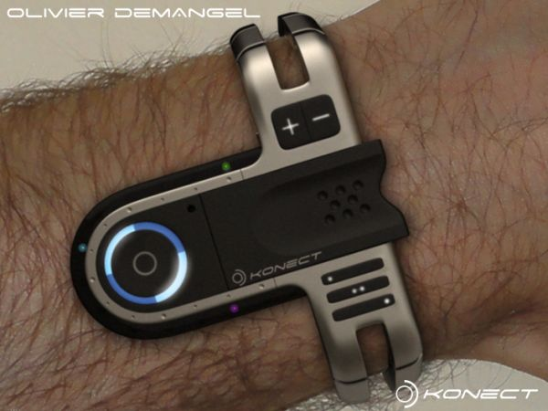 Konect Tokyo USB Concept Watch: для поклонников Ski-Fi