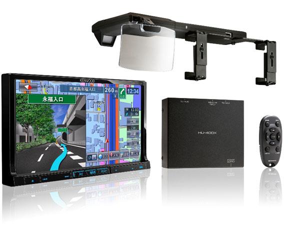 HUD-навигатор JVC: дисплей, присатвка, головной модуль и пульт ДУ