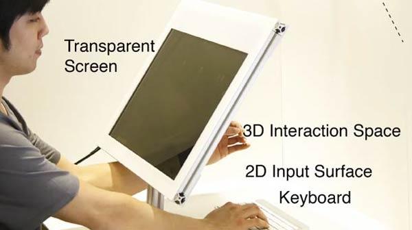 SpaceTop 3D: экстра ординарный выход в 3D-пространство