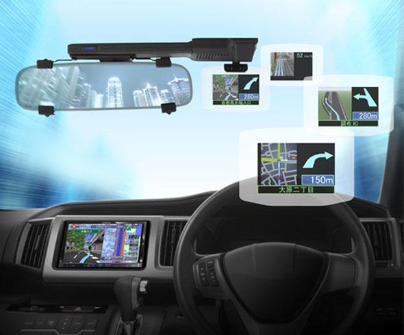 Так будет выглядеть HUD-навигатор в авто