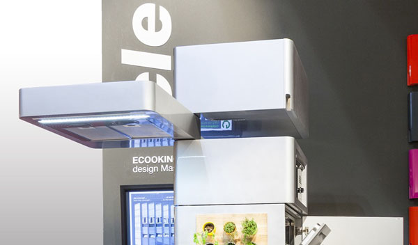 Kitchen Ecooking: модуль с вытяжкой и, как многие выражаются, подсветкой