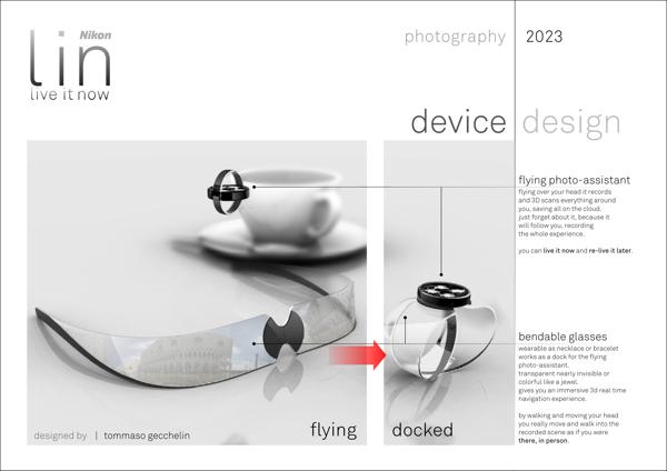 Nikon LIN - невероятный концепт камеры нового поколения
