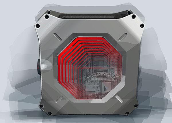 Системный блок М8-концепт во имя геймеров