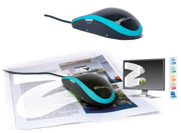 IRIScan Mouse: мышка-сканер, интегрированная с Google и Microsoft