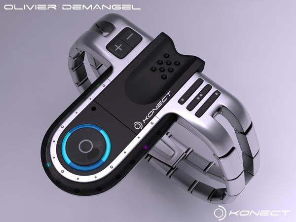 The Konect Tokyo USB Concept Watch: японские часы на французский лад