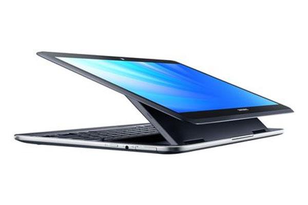 Samsung  ATIV Q: дисплей открыт в любом случае