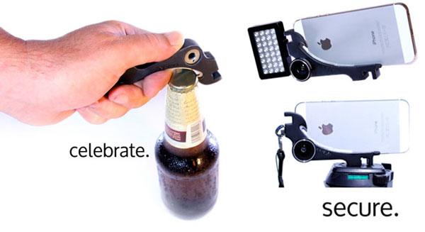 XiStera: открывалка, брелок, подставка, LED-фонарик