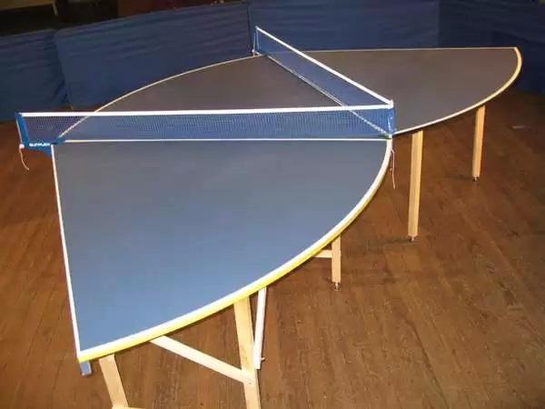 Modular Table Tennis System - модульный теннисный стол для 12 игроков