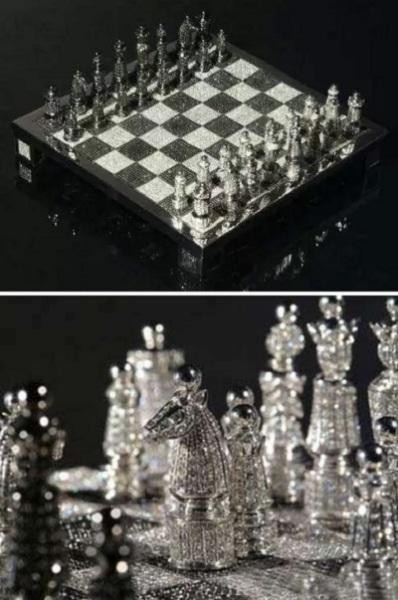 Драгоценные шахматы Royal Diamond Chess от Bernard Maquin