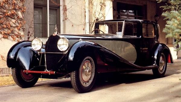 Bugatti Type 41 Royale - один из самых дорогих автомобилей в истории и бывший личный автомобиль семьи Bugatti