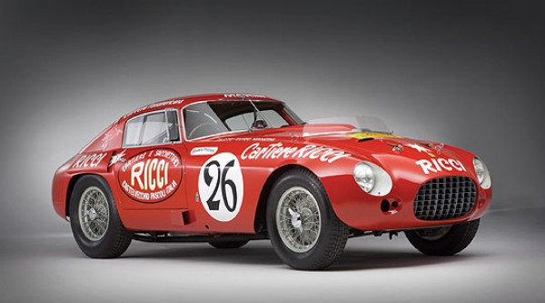 Ferrari 340/375 M Berlinetta Competizione 1953 - один из самых дорогих автомобилей всех времен