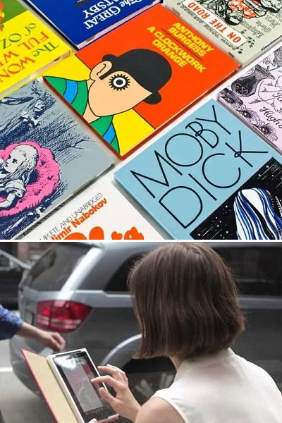1st Edition Book Cases - коллекция креативных чехлов для iPad, чьи владельцы не равнодушны к литературе