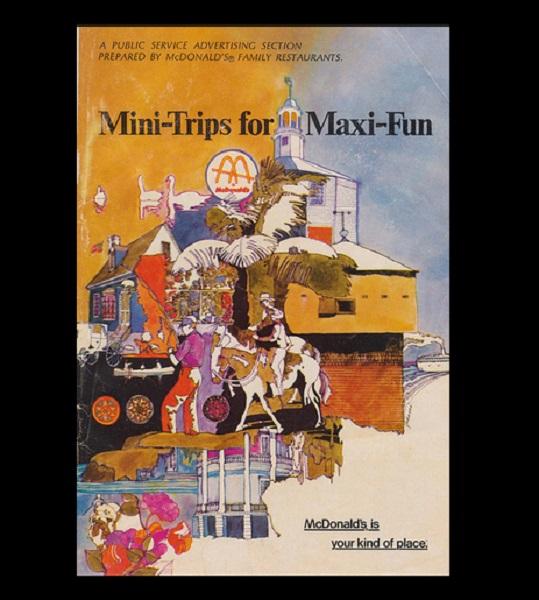 Необычный путеводитель Mini-Trips for Maxi-Fun от персонала McDonald's