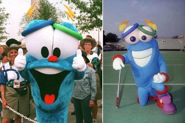 Whatizit и Izzy - странные символы Олимпийских игр 1992 и 1996 годов