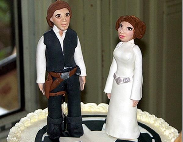 Свадебный торт Star wars