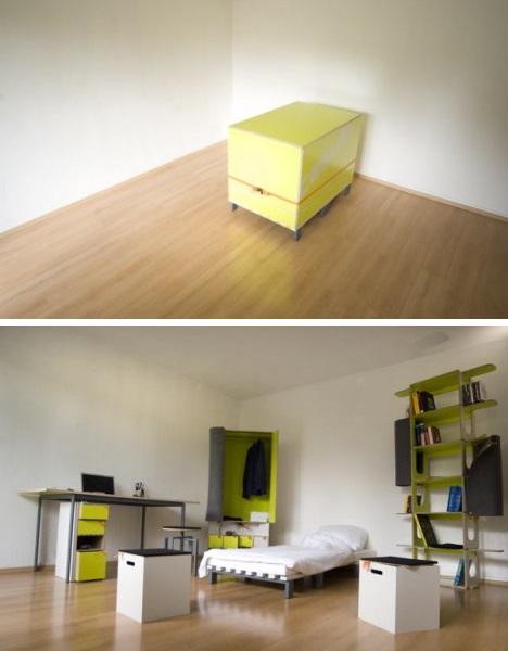 Casulo - комната в коробке от Sebastian Muhlhauser и Marcel Krings