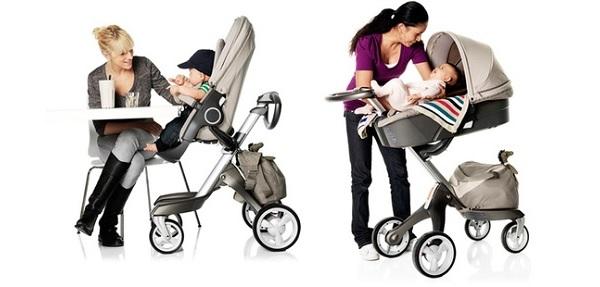 Детские коляски бывают разных видов