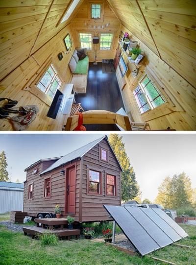Узкий дом в стиле бунгало - проект Malissa Tack
