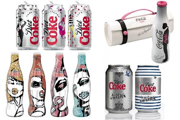 Яркие упаковки Coca-Cola