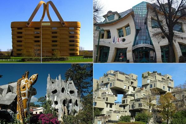 Примеры уникальной современной архитектуры со всего мира
