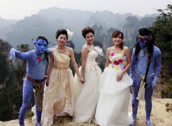 Оригинальная тематическая свадьба в