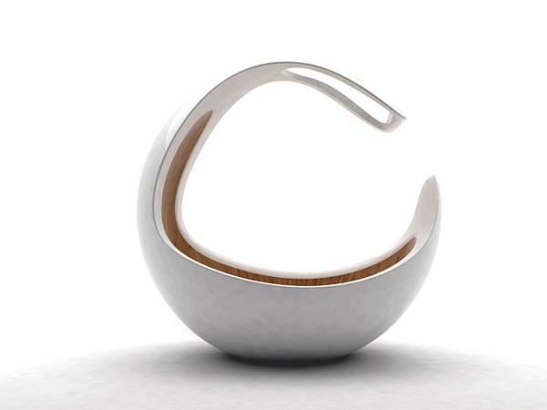 Baby C crib – оригинальная детская кроватка, имитирующая форму материнской утробы