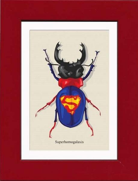 Супергерои-жуки от Matt Cowan