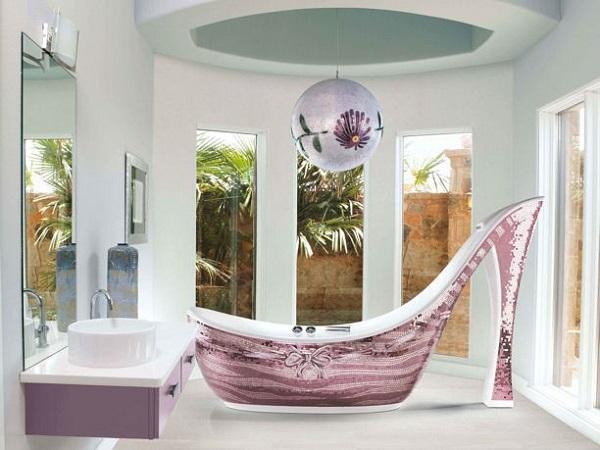 Ванна-туфля от Massimiliano Della Monaca