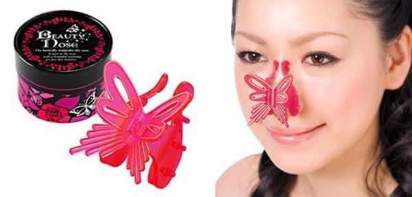 'Заколка' Beauty Nose Butterfly - щадящий гаджет для коррекции формы носа