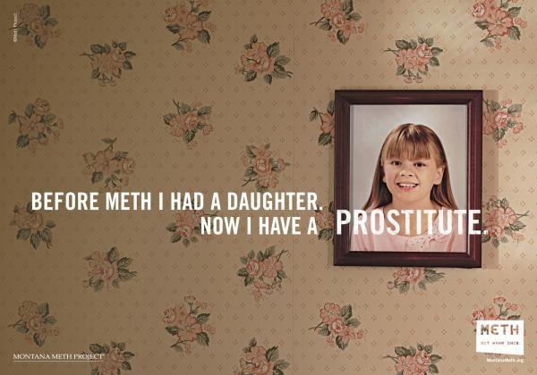 Meth: not even once - шокирующая социальная реклама от Montana Meth Project
