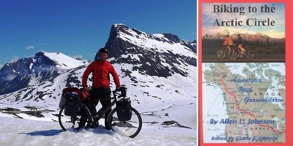 Необычный путеводитель Biking to the Arctic Circle от  Allen L. Johnson