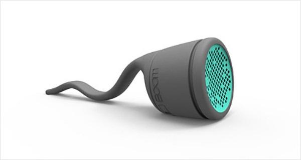 Портативная водонепроницаемая колонка Boom water resistant speaker - один из лучших гаджетов-новогодних подарков для мужчин
