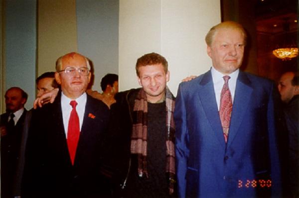 Восковые скульптуры Горбачева и Ельцина в лондонском филиале Madame Tussauds museum