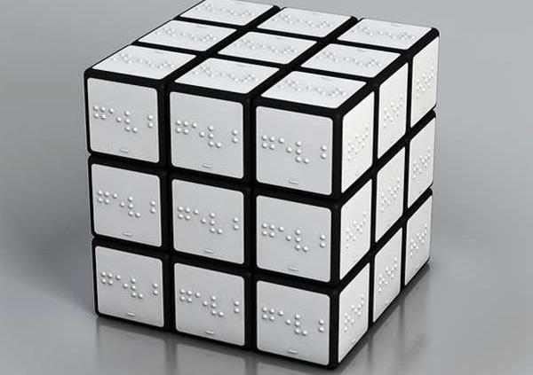Кубик Рубика для незрячих от Konstantin Datz