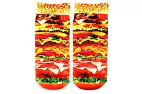 Аппетитные Burger Socks - необычные носки-безвредная альтернатива фаст-фуда