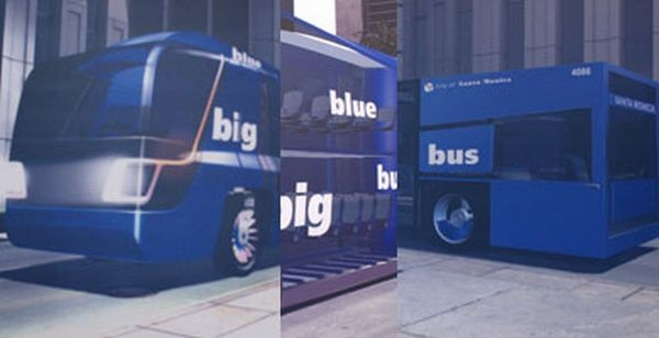 Концепт эко-автобуса Big Blue bus