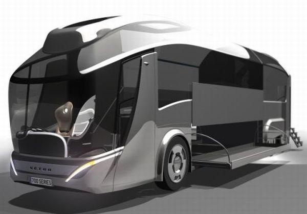 Концепт эко-автобуса Setra Coach